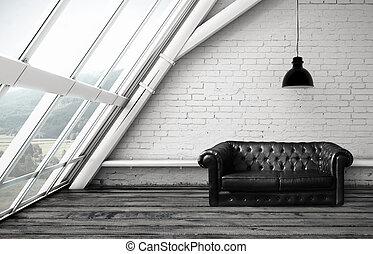 sofá, sala