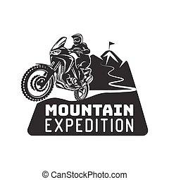 sofőr, motokrossz, extrém, faj, monochrom, jel, enduro, ábra, motorkerékpár