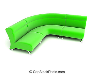 sofa, 3d