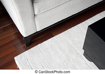 sofa and coffee tabl