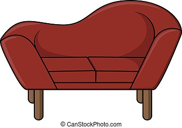 sofa, conception, illustration