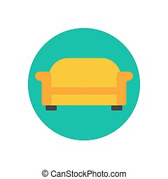 Sofa couch illustration