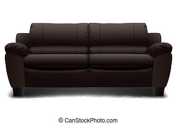 sofa, ensemble