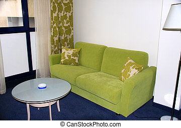 sofa in the style room