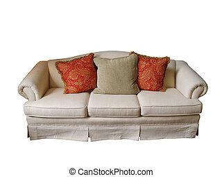sofa, isolé