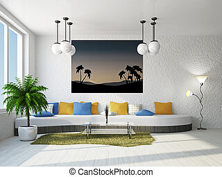 sofa, livingroom, groß