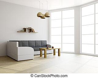 sofa, livingroom, tisch