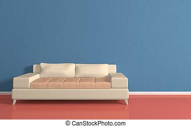 sofa, modern