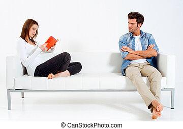 """sofa, para, """"separated"""