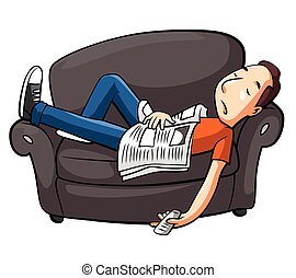 sofa, slappe