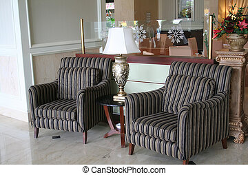 Sofa waiting room - Elegant waiting area living room with...
