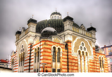 Sofia Synagogue, the largest synagogue in Southeastern Europe -