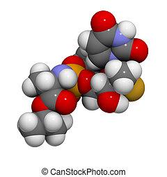 Sofosbuvir experimental (2013) hepatitis C virus drug,...