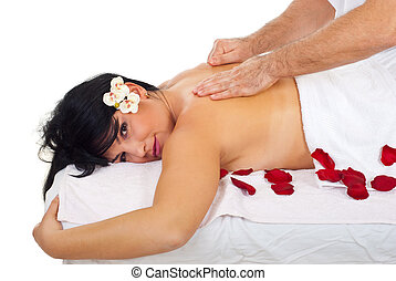 Soft and deep massage