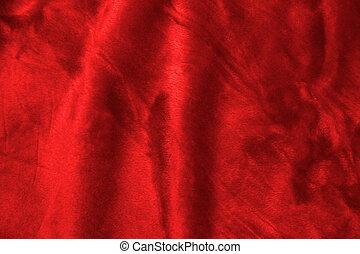 Soft Background - Soft red fabric closeup