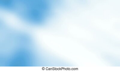 Soft blue and white text friendly - Looping soft blue and...
