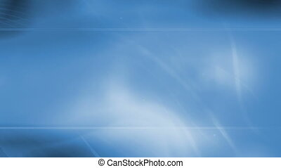 Soft blue flowing animated abstract loop