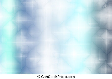 Soft Blue Magical Fantasy Abstract Background