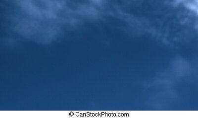 Soft blue sky background