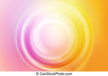 Soft blurred circle shape colorful abstract - Tender soft...