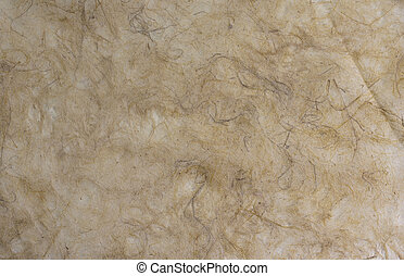 Soft brown mulberry paper