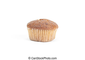 soft cake isolated on white background