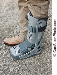 Soft cast footwear - Modern compression boot a popular...