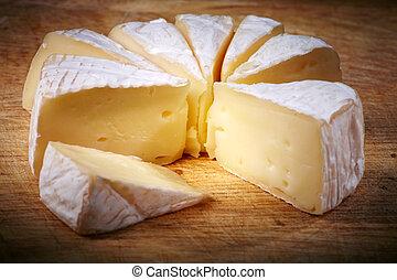 Soft cheese Brie