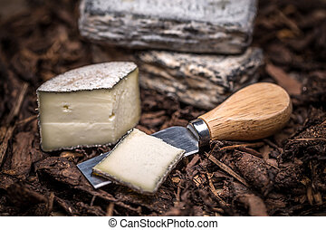 Soft cheese, brie or camembert