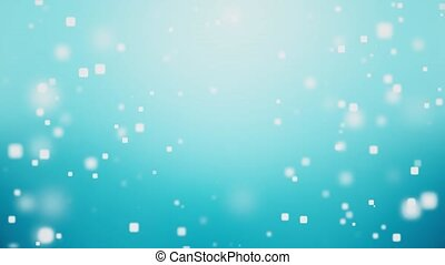 Soft Claean Blue Shiny Particles motion Loop Celebration abstract background