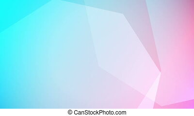 Soft colored abstract background. Loopable.