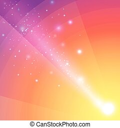 Soft colored abstract background with beam light.