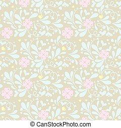 Soft decorative pattern