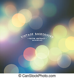 Soft Defocused Background - Vintage Defocused Background - ...