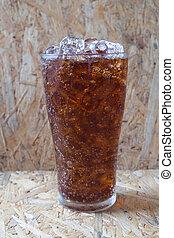 soft drink in glass