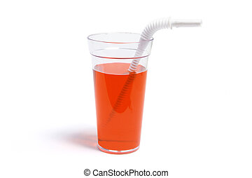 Soft Drink in Plastic Cup