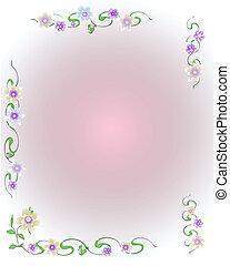 soft flower scrapbook