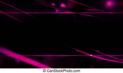 Flowing Abstract Loop Magenta Frame