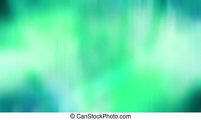 Soft flowing Blue Green Abstract