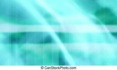 Soft Flowing Blue Green loop HR427