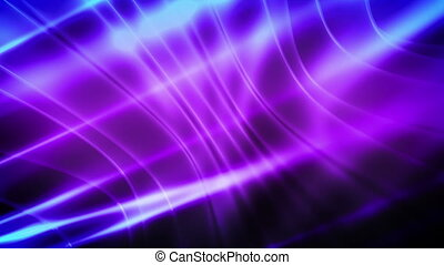 Soft Flowing Purple and Blue Loop