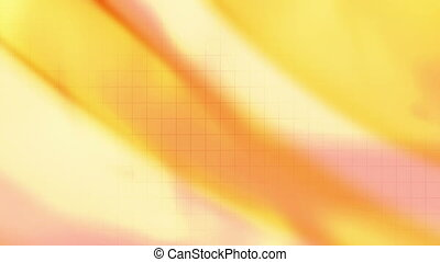 Soft flowing yellow and wire frame