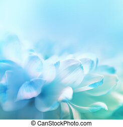 Soft focus flower background with copy space. Made wth lensbaby and macrolens.