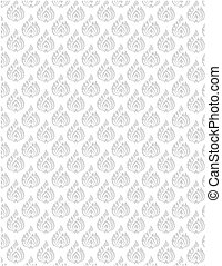 soft gray floral pattern
