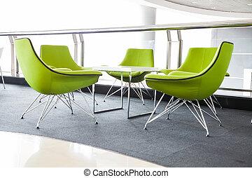 Soft green Stylish Chair