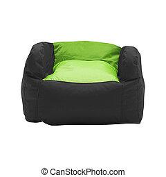 soft leather beanbag