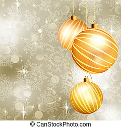 Soft light christmas background. EPS 8