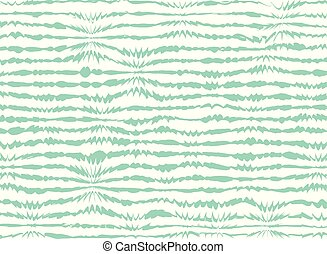 Soft lines of blue green line abstraction pattern background.