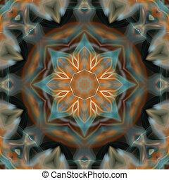 Soft Mandala Flower
