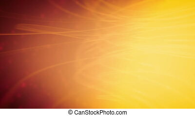 Soft Particles Warm hues Abstract